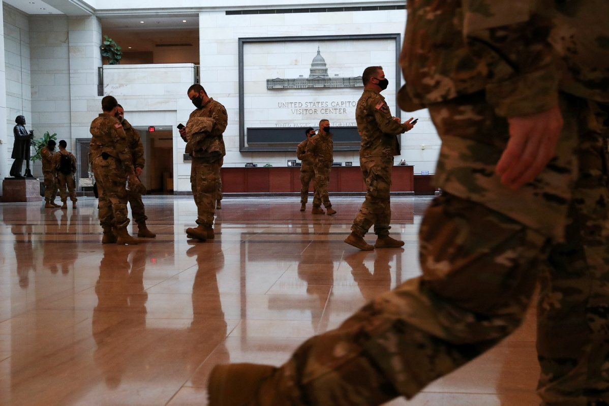 Gov. Gianforte welcomes Montana National Guard troops home from DC