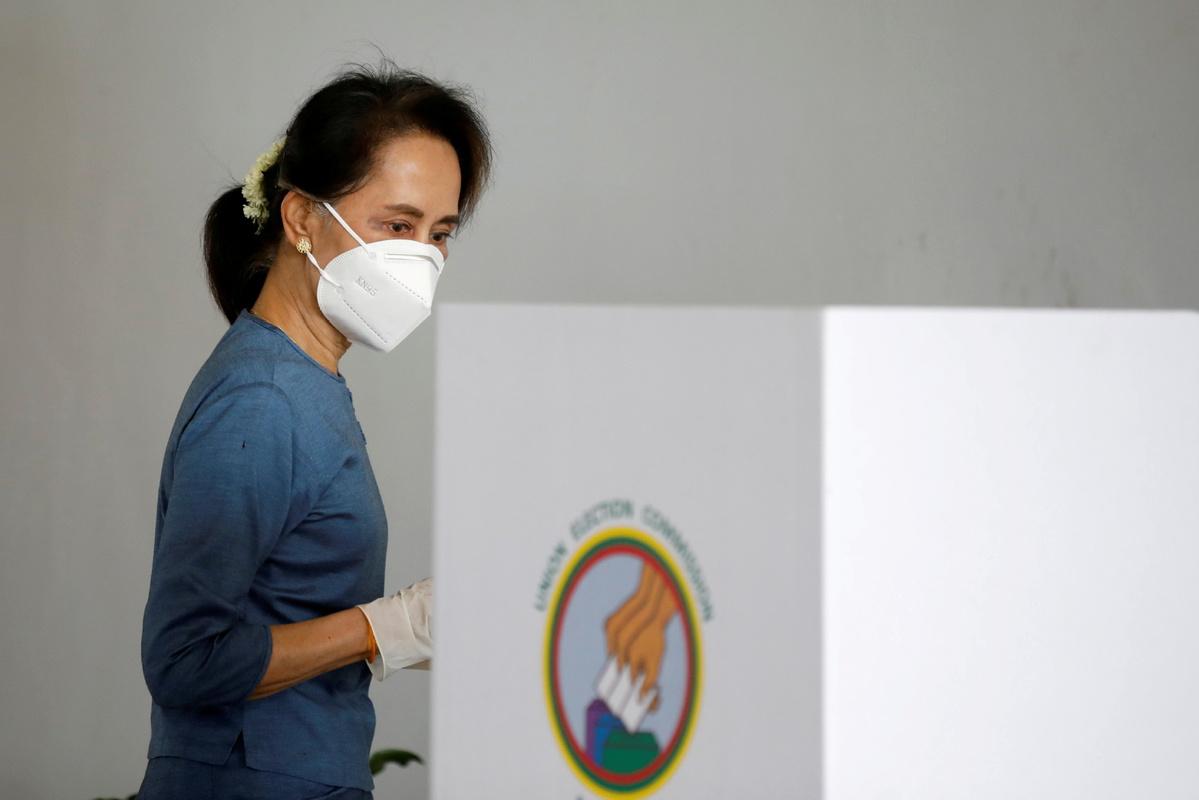 U.S. president Joe Biden threatens sanctions on Myanmar after military coup