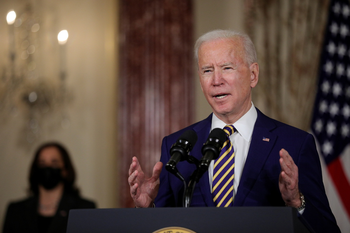 'Democracy is fragile,' Biden says after Trump acquittal