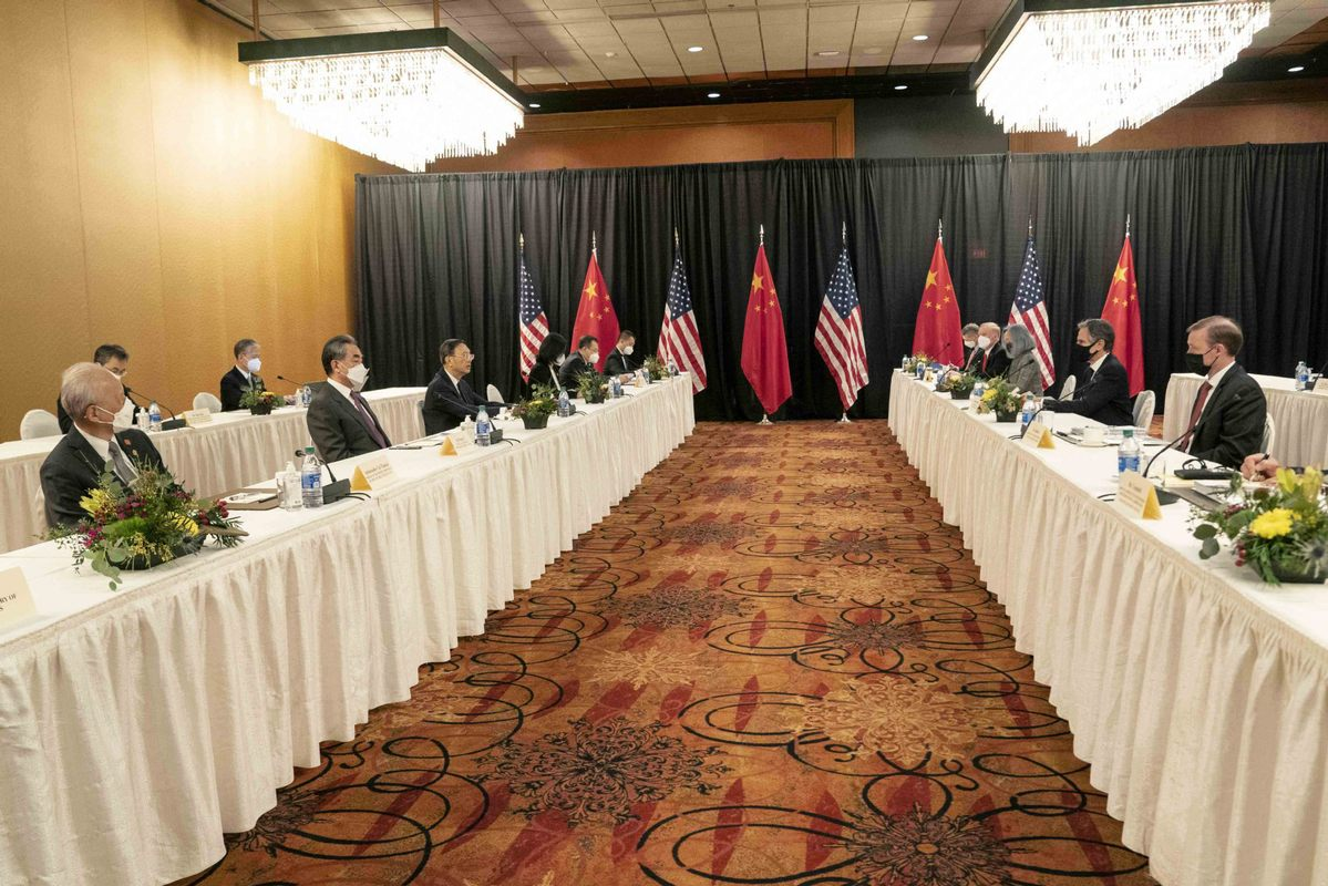 U.S. official accuses China of 'grandstanding' in tense bilateral talks