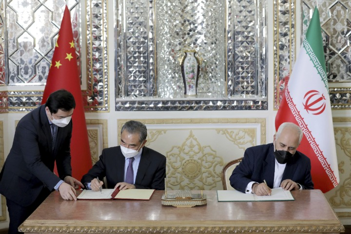 China, Iran take path to shared future