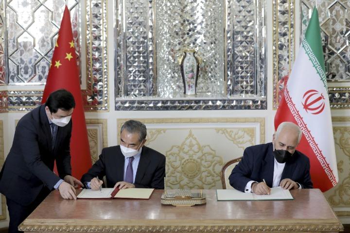 China, Iran take path to shared future