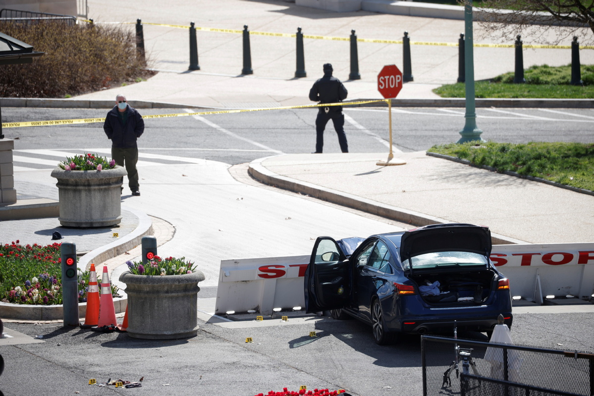 Dead officer and suspect identified after US Capitol incident