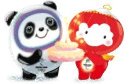 Beijing 2022 mascots turned into WeChat stickers - chinaculture.org