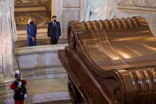 Macron treads diplomatic line over Napoleon's anniversary