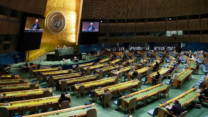 Xi pledges full support for UN values