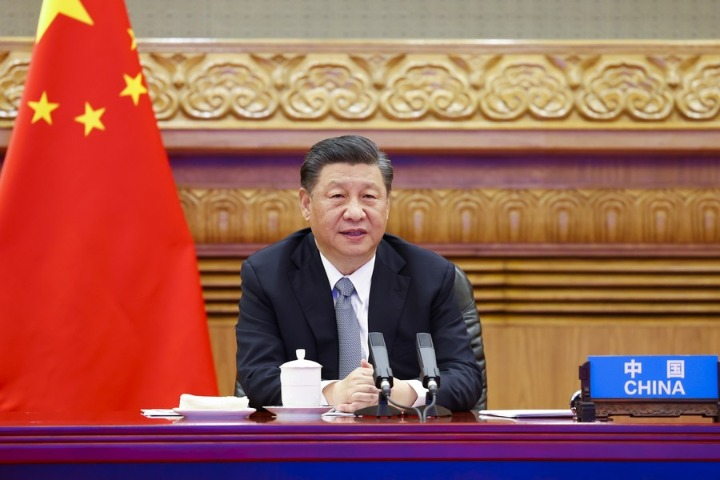 Xi says China will support Sierra Leone's anti-pandemic fight