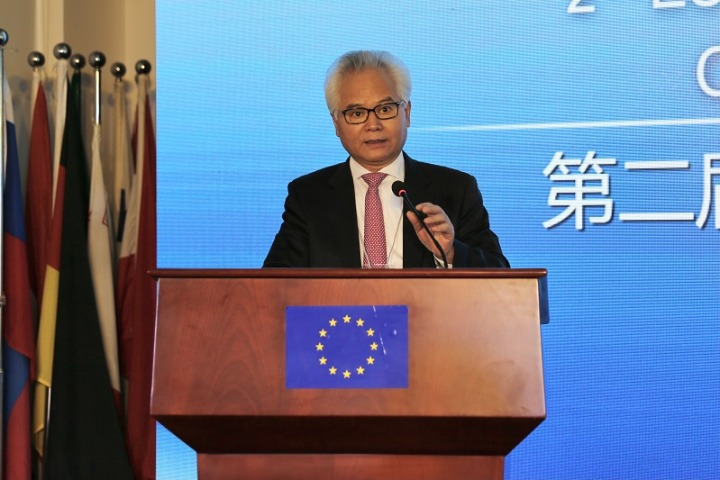 The sea a bridge and bond between China and Europe