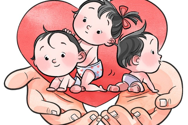 Three-child policy needs supporting measures to produce results