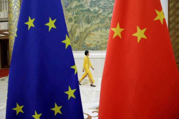 Only talks can bridge China and EU