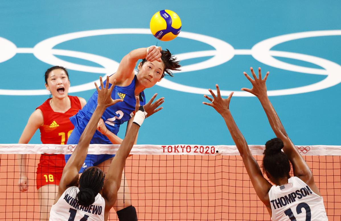 Women pain olympics