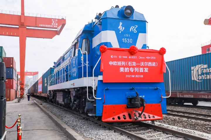 China-Europe trains have boosted investment and trade across Eurasia