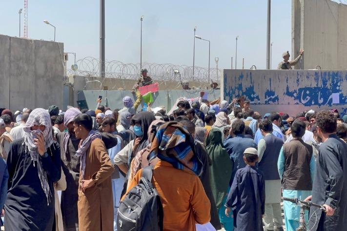 Prioritize restoring peace in Afghanistan