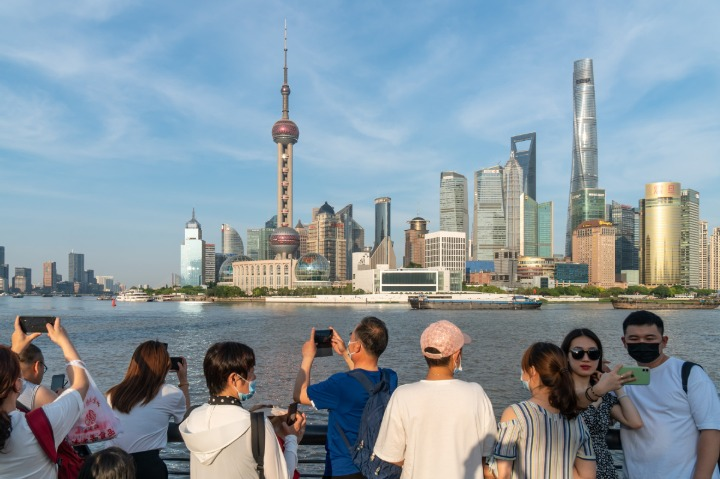 Tourism has changed for Chinese people in the past 40 years
