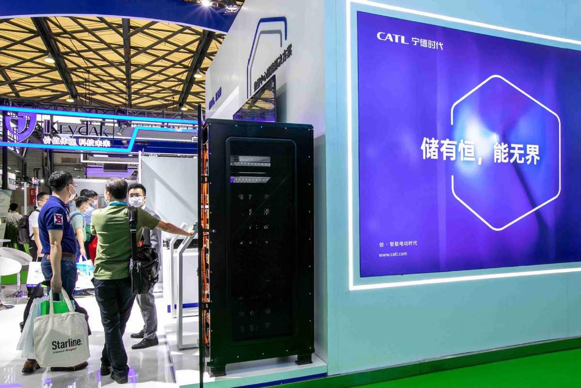 CATL计划钠离子电池生产线