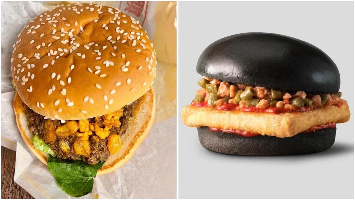 麦当劳为中国消费者推出新汉堡