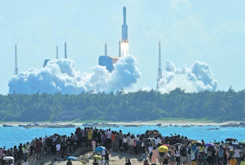 补给飞船被派往空间站