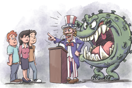 US action, not words, needed to fight virus
