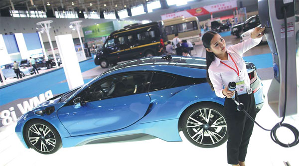 New energy car sales rev up - Chinadaily.com.cn