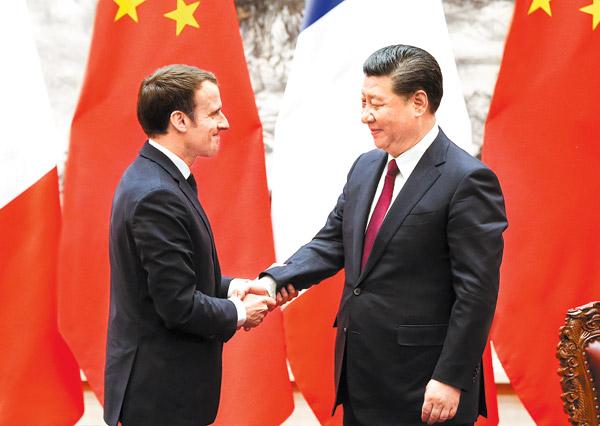 Xi, Macron celebrate joint progress - Chinadaily.com.cn