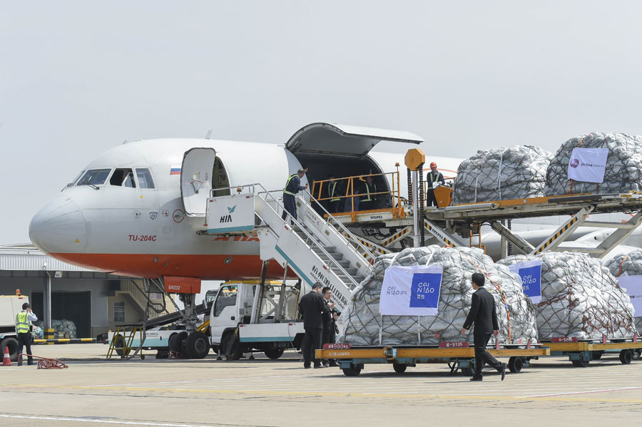 Cainiao launches global air freight service - Chinadaily.com.cn