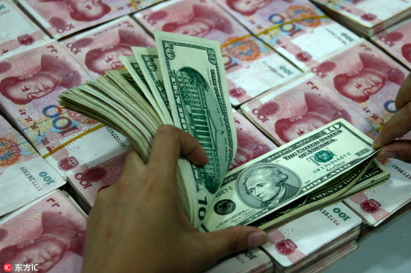Foreign exchange reserves slip slightly in April - Chinadaily.com.cn