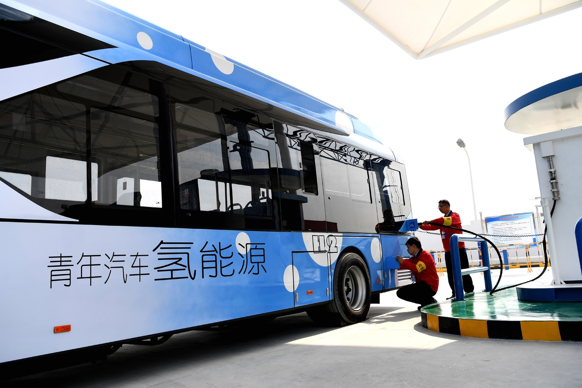 Image result for China Hydrogen Bus