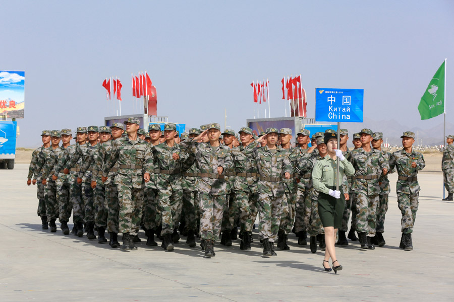 International army games to promote military exchanges ...