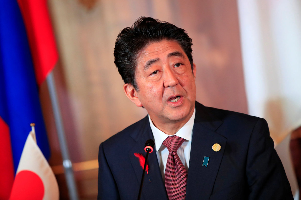 Japan PM underlines economic teamwork - World - Chinadaily.com.cn