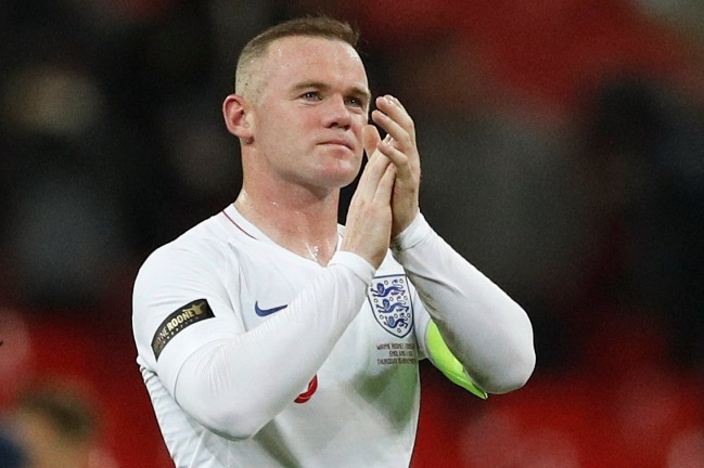 No goal for Wayne Rooney in 120th, final England appearance - Chinadaily.com.cn