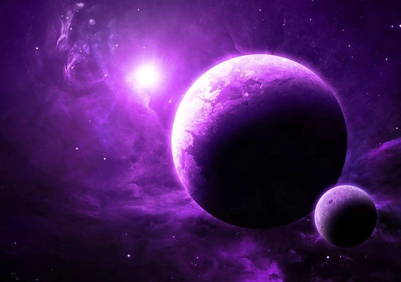 地球上最早的生命和外星生命可能都是紫色的