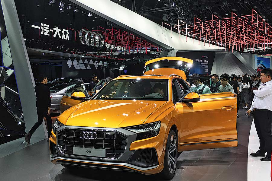 audi runs rings around competition with sales in premium market chinadaily com cn audi runs rings around competition with