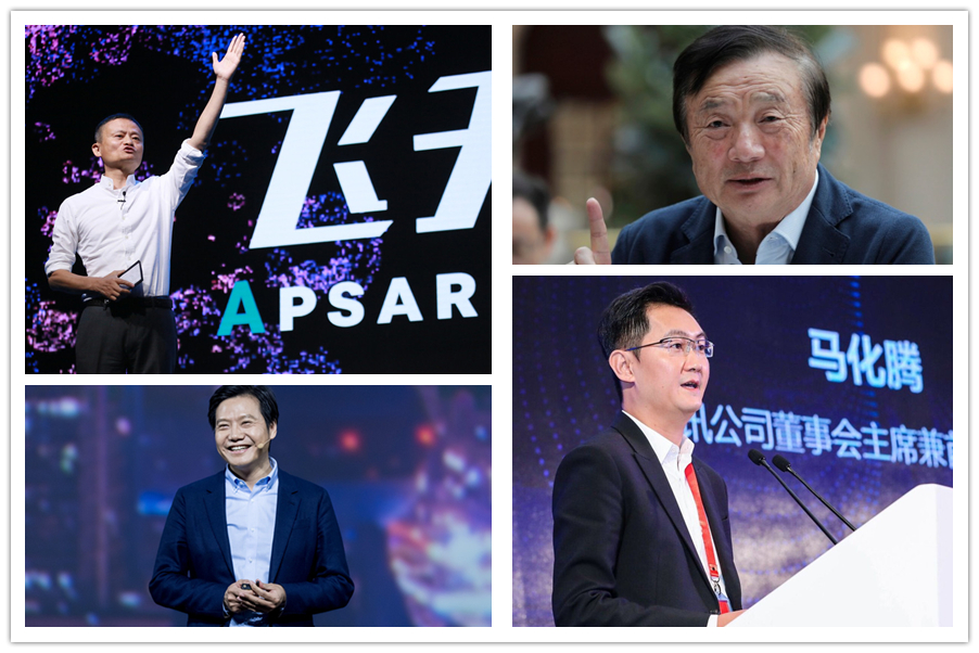 Top 10 Influential Chinese Business Leaders In 2019 Chinadaily Com Cn