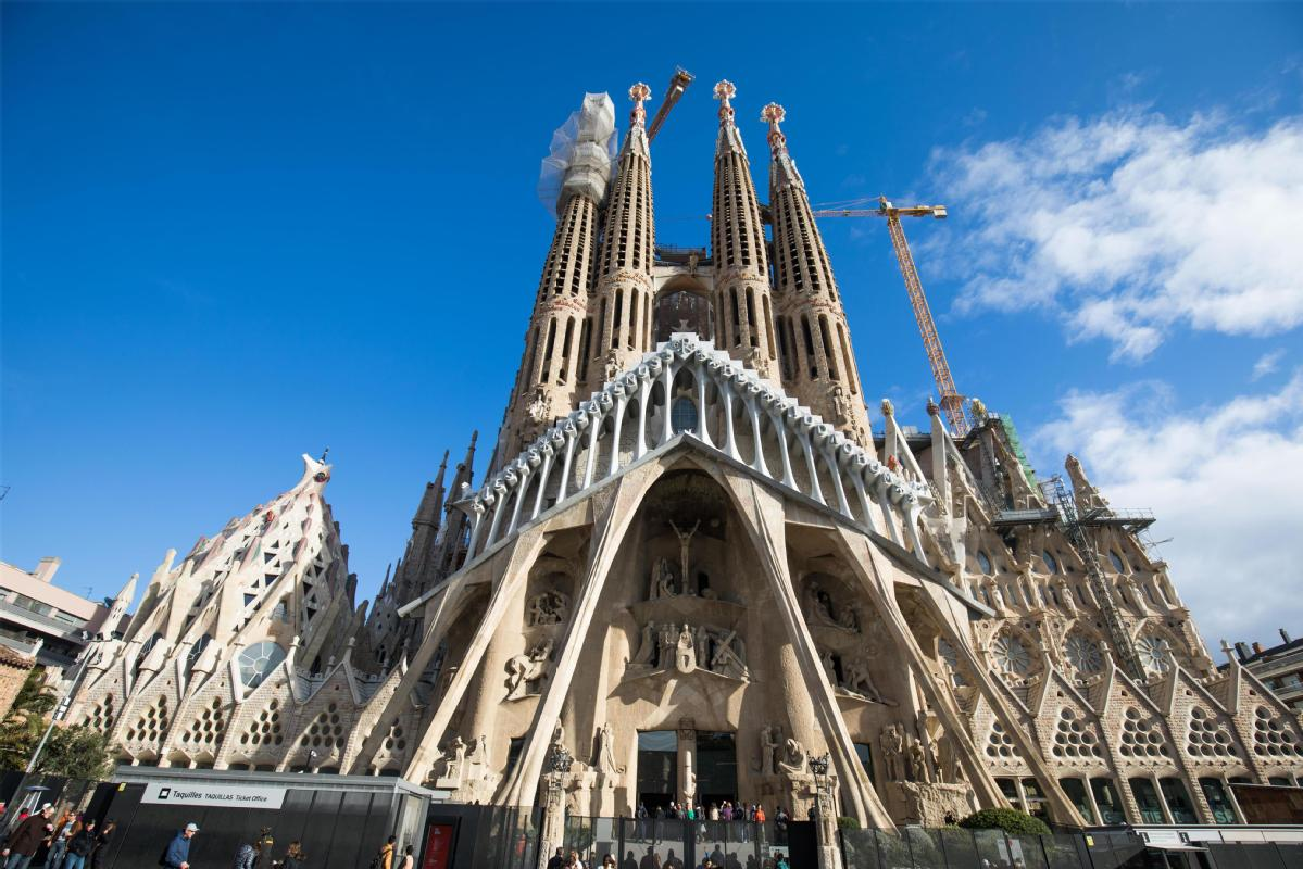 Spain Unfinished Gaudi Church Gets