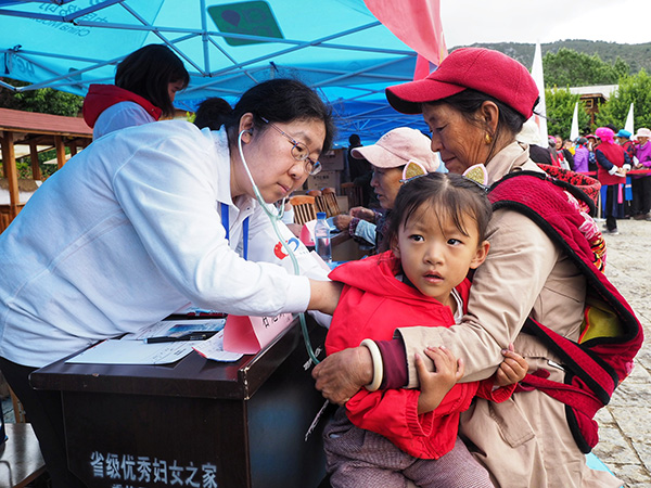 800 Volunteers in Diqing Tibetan Autonomous Prefecture to Provide Free Medical Services