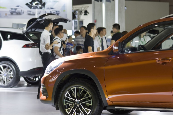 China's passenger car sales drop in August - Chinadaily.com.cn