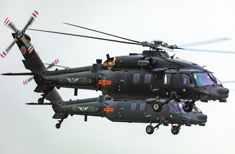 Z-20 medium-lift utility helicopter of China