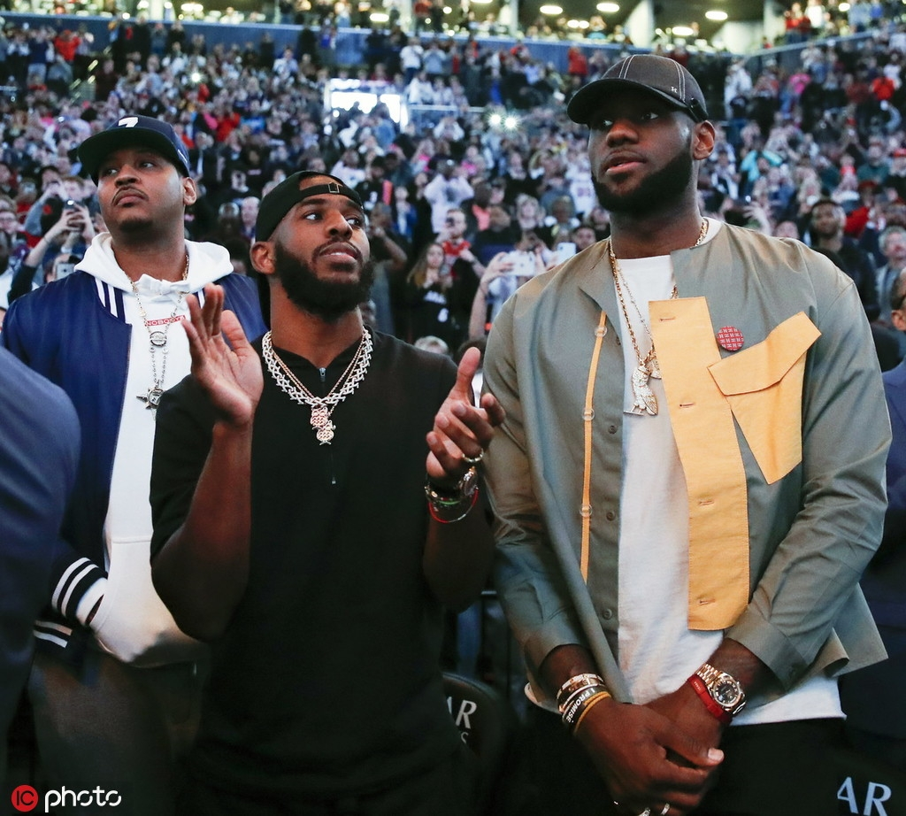 LeBron 'scandal' shows depth of anti-China psychosis - Opinion - Chinadaily.com.cn