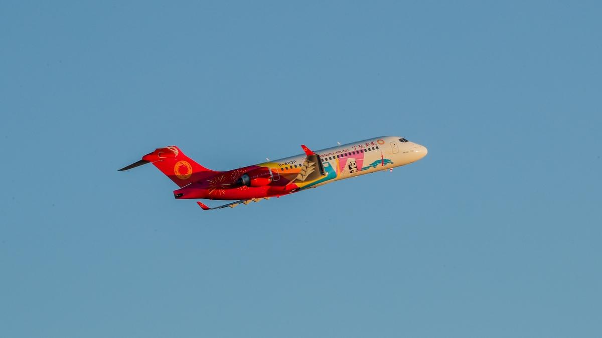 Resultado de imagen para Chengdu Airlines ARJ21