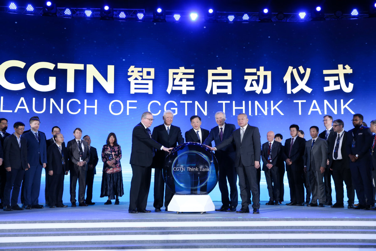 CGTN launches think tank in Beijing - Chinadaily.com.cn