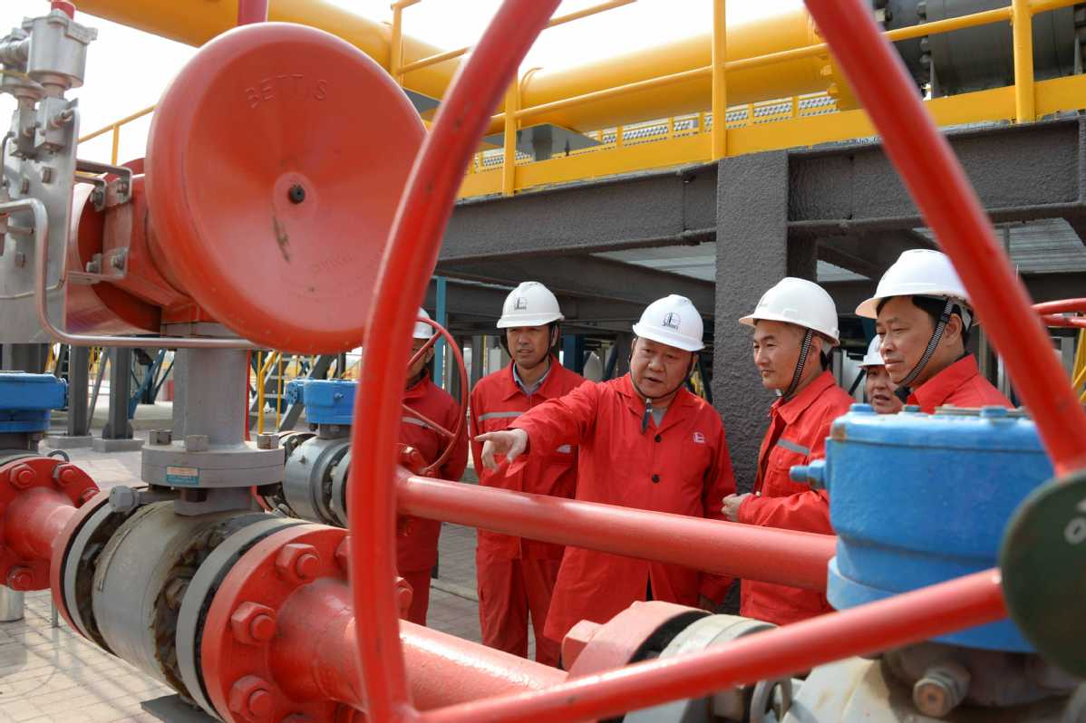 National oil and gas pipeline network launched - Chinadaily