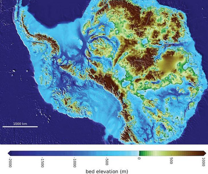 Deepest point on land found in Antarctica - World ...