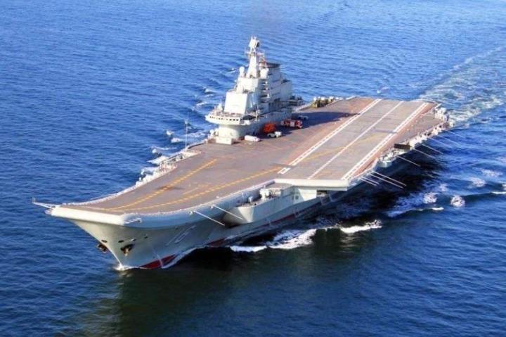 PLA navy Shandong aircraft carrier