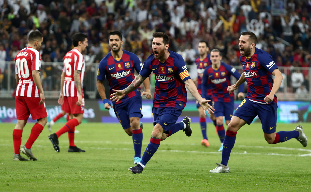 Atletico Madrid Upset Barca To Book Spanish Super Cup Final With