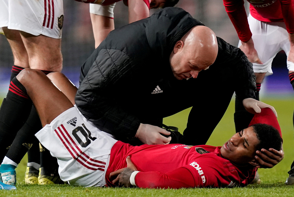 Rashford Out Until February Due To Back Injury Chinadaily Com Cn