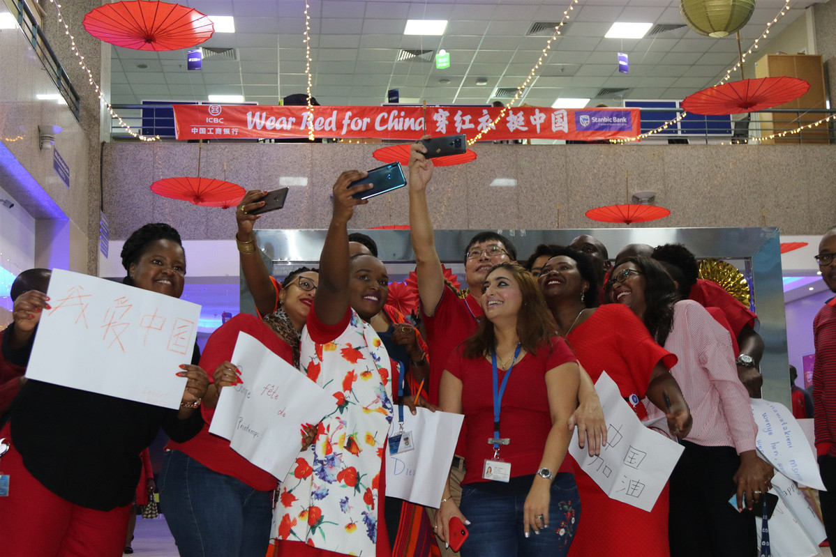 Standard Bank staff in Africa join the celebration of China's Lunar New Year