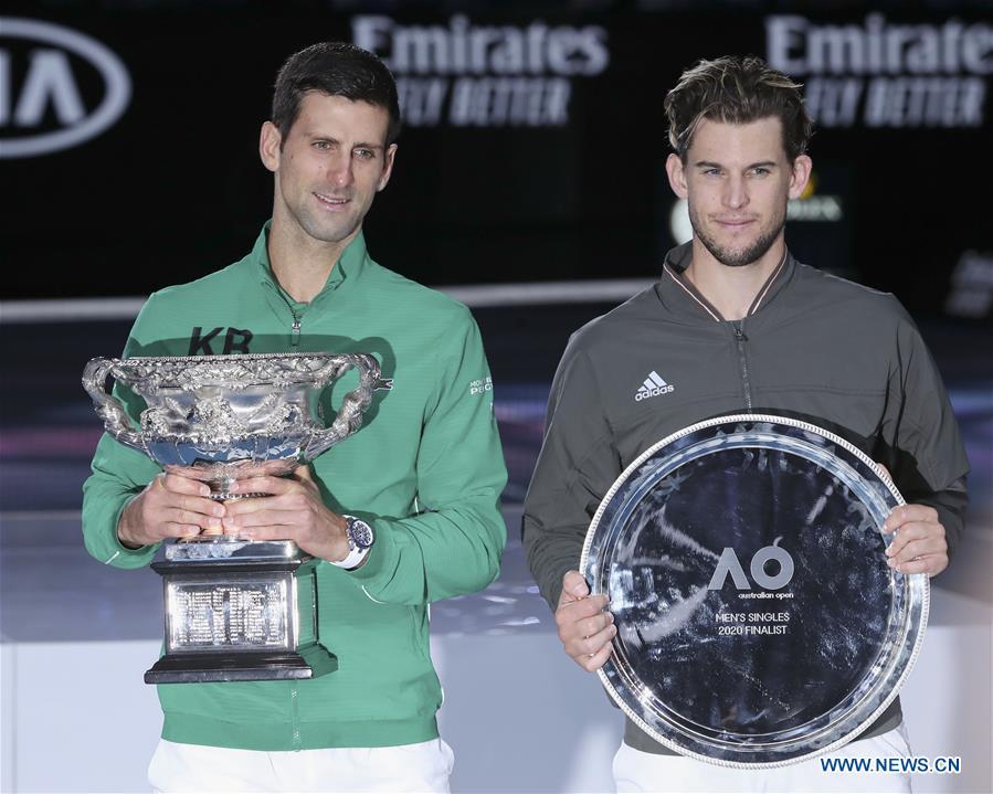 Djokovic Wins Australian Open In Thriller Final Chinadaily Com Cn