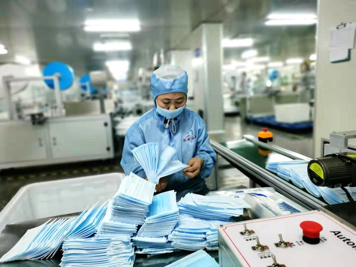 Face mask production remains strong amid other factory slowdowns