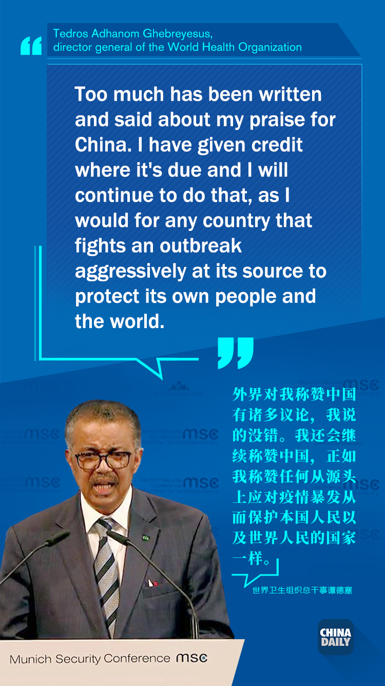 Quotes Unquotes Who Chief On Coronavirus China And Racism Chinadaily Com Cn