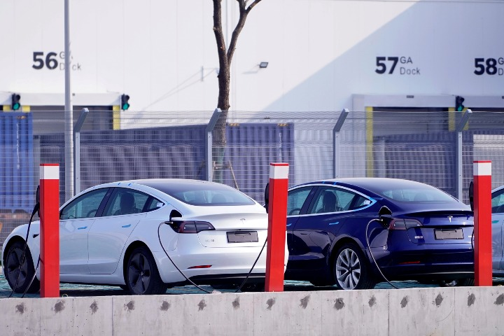 Tesla signs agreement with CATL battery maker - Chinadaily.com.cn